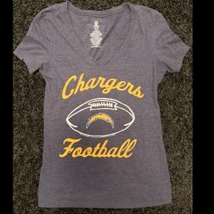 Women's San Diego Chargers Shirt Size XS